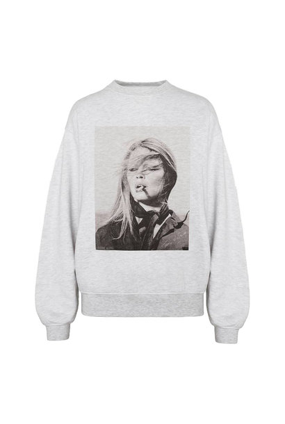 Ramona Sweatshirt AB x TO - Heather Grey