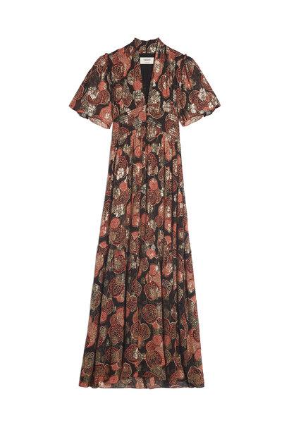 Hide Dress Maxi - Black