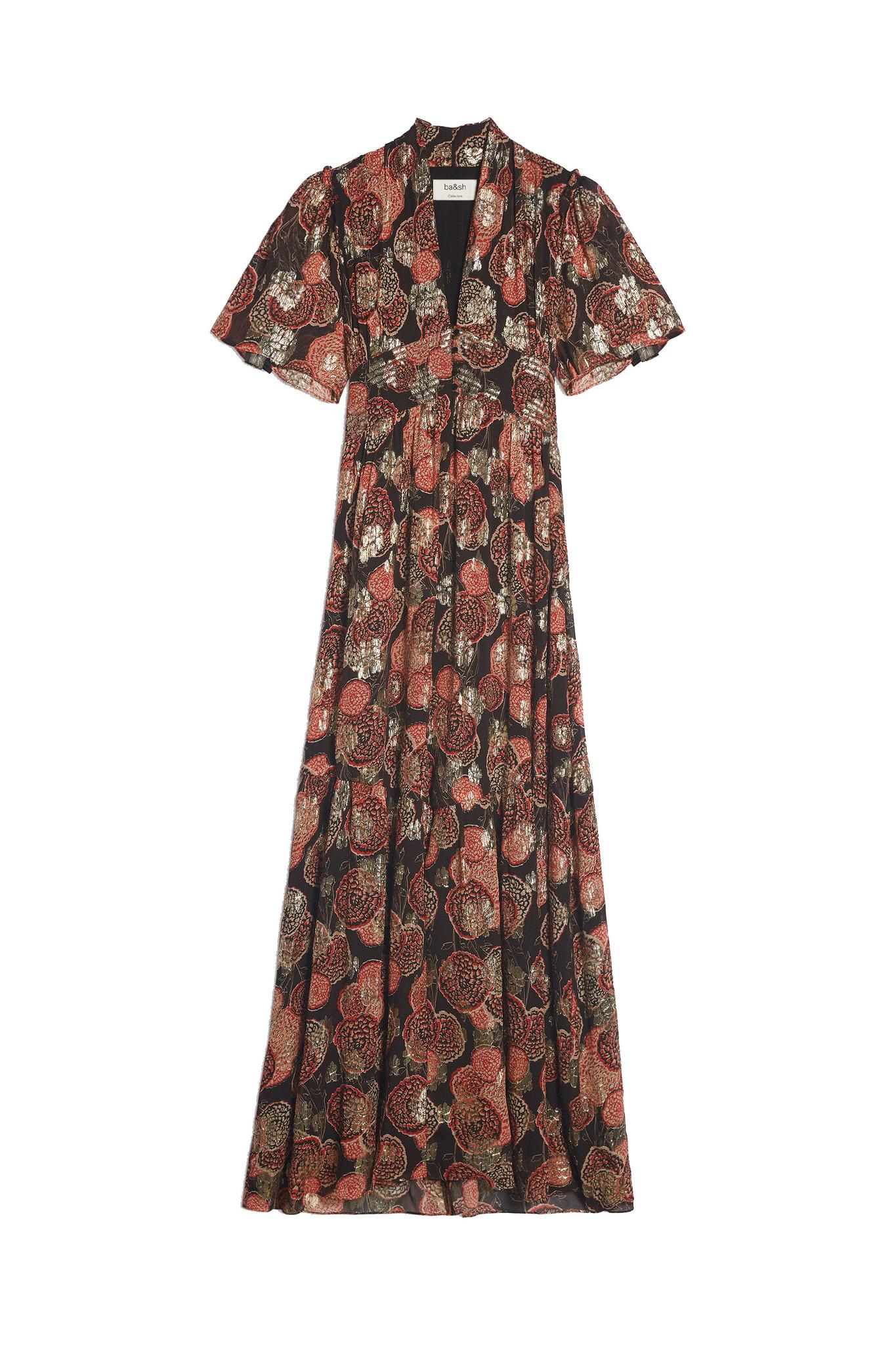Hide Dress Maxi - Black-1