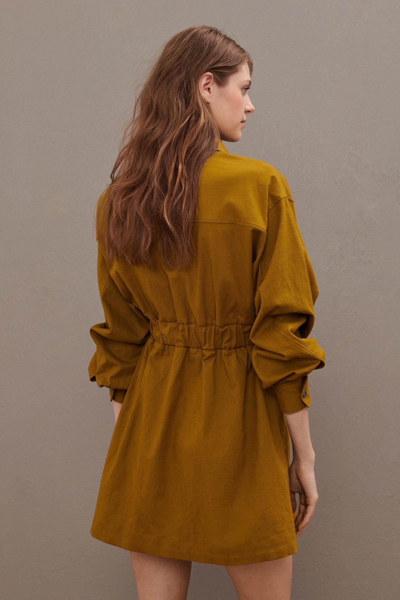 Oden Dress - Olive-6