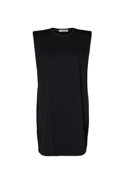 Eduarda Tee Dress - Black