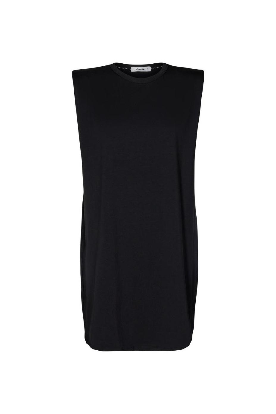 Eduarda Tee Dress - Black-1