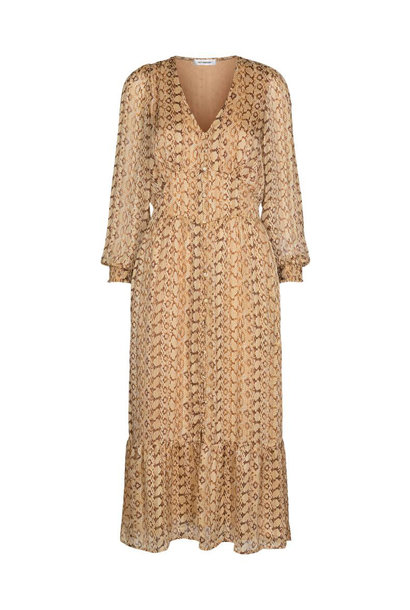 Python Dress - Dusty Yellow