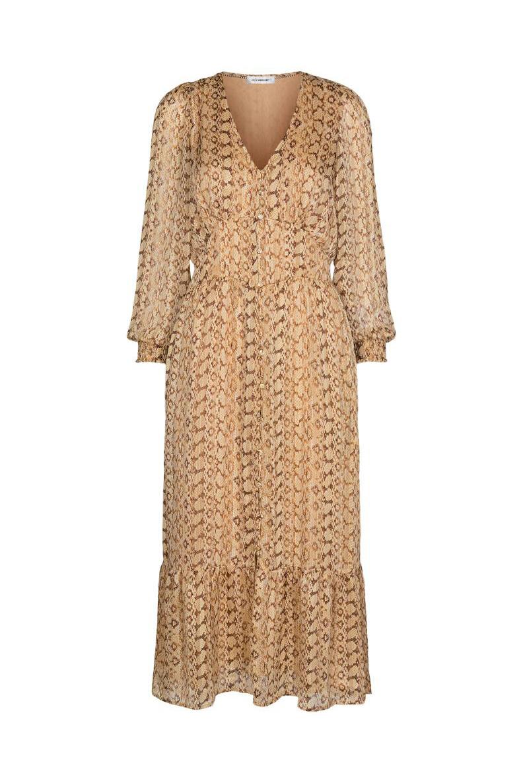 Python Dress - Dusty Yellow-1