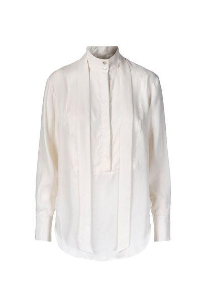 Tuxedo Shirt - Gebroken Wit