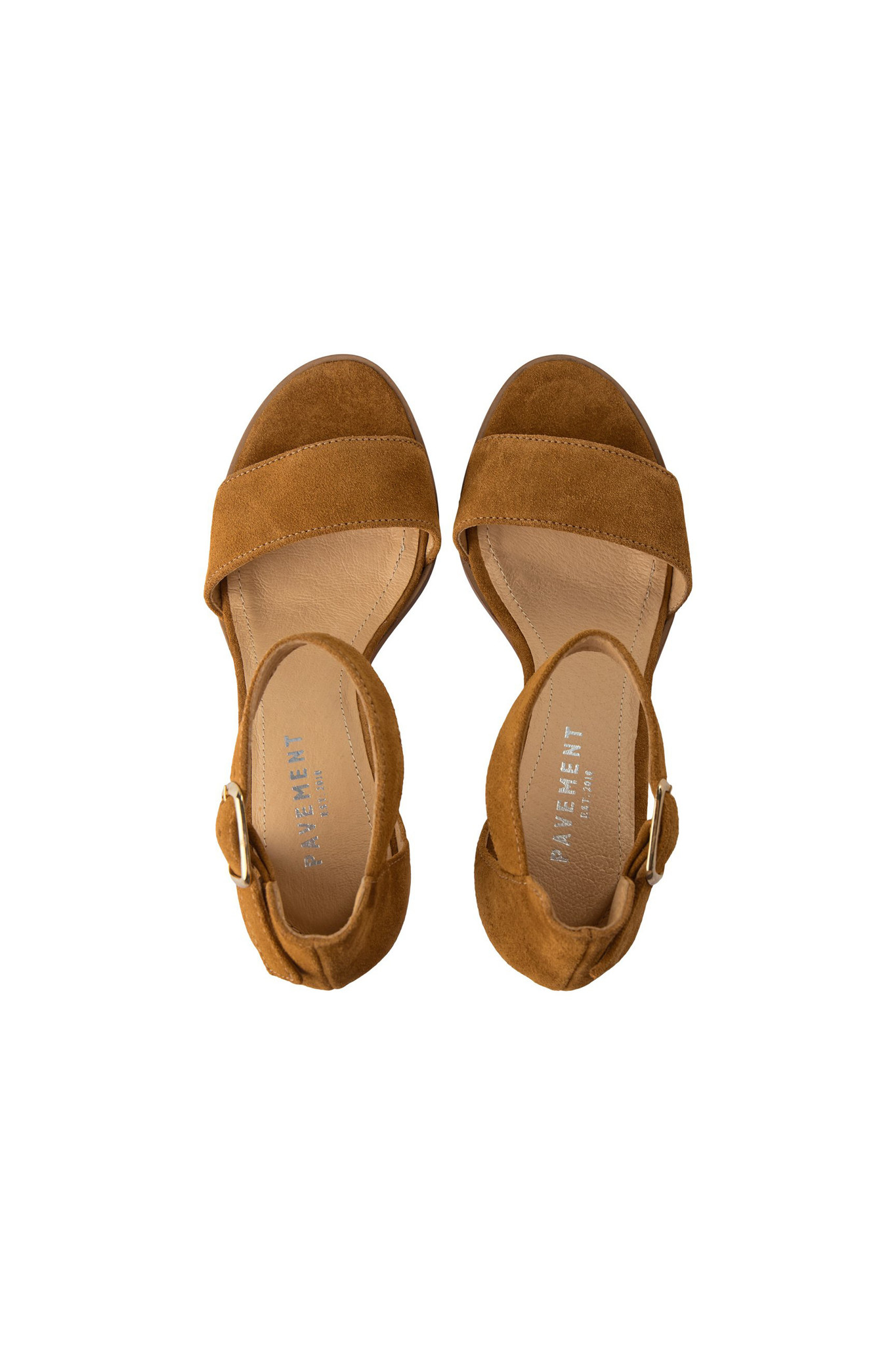 Silke Sandal - Tan Suede-3