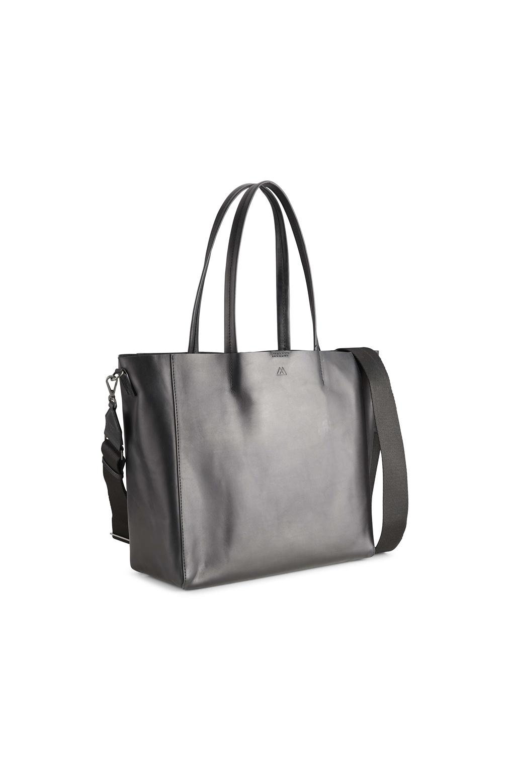 Reese Shopper Bag - Antique Black w/ Black-2