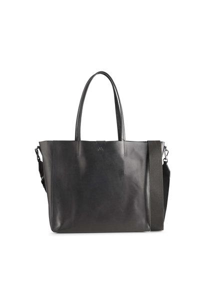Reese Shopper Tas - Antiek Zwart met Zwart