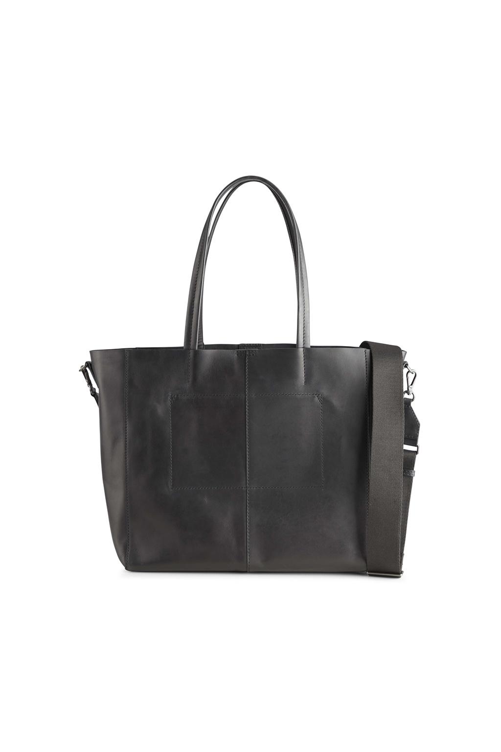 Reese Shopper Bag - Antique Black w/ Black-5