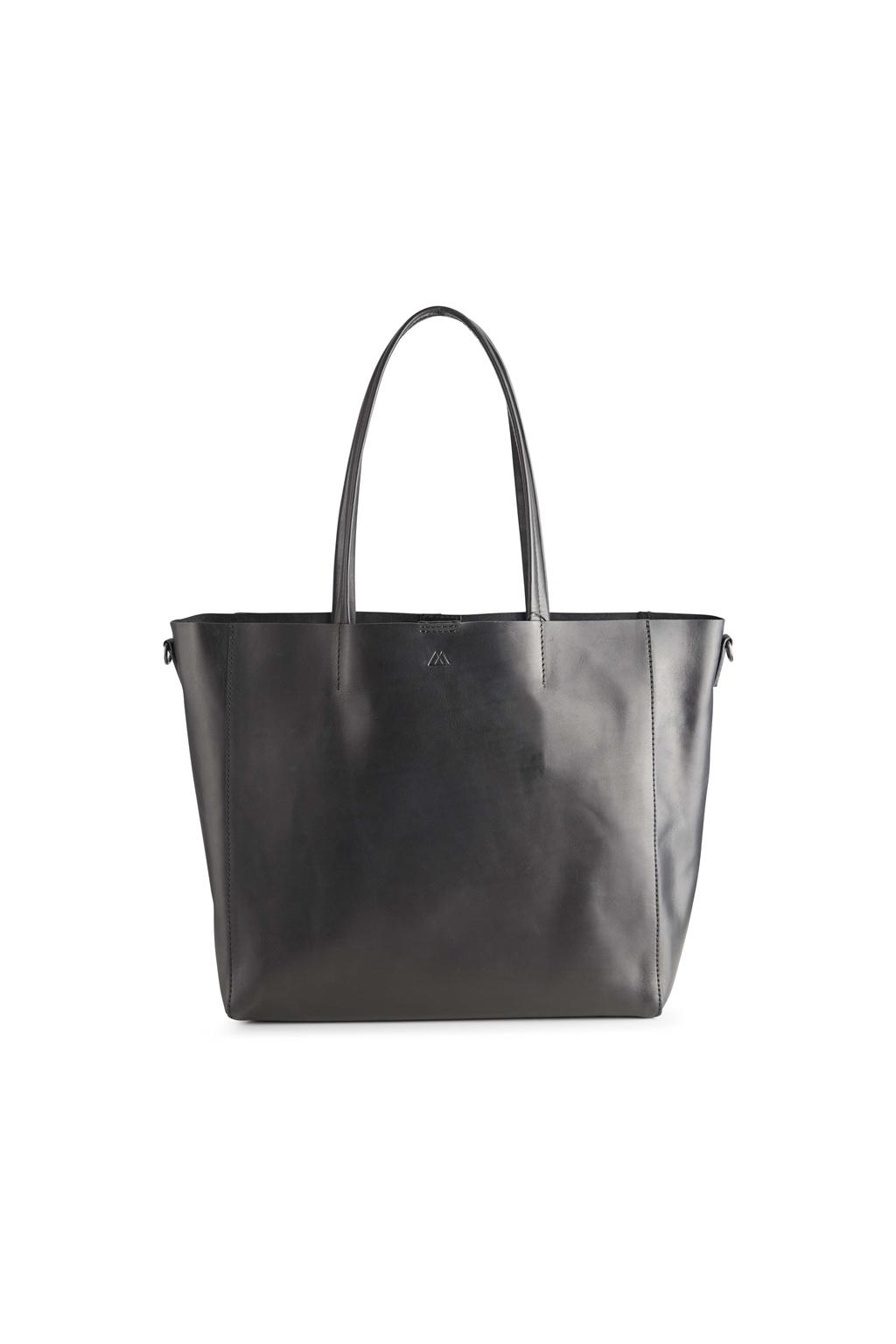 Reese Shopper Bag - Antique Black w/ Black-3