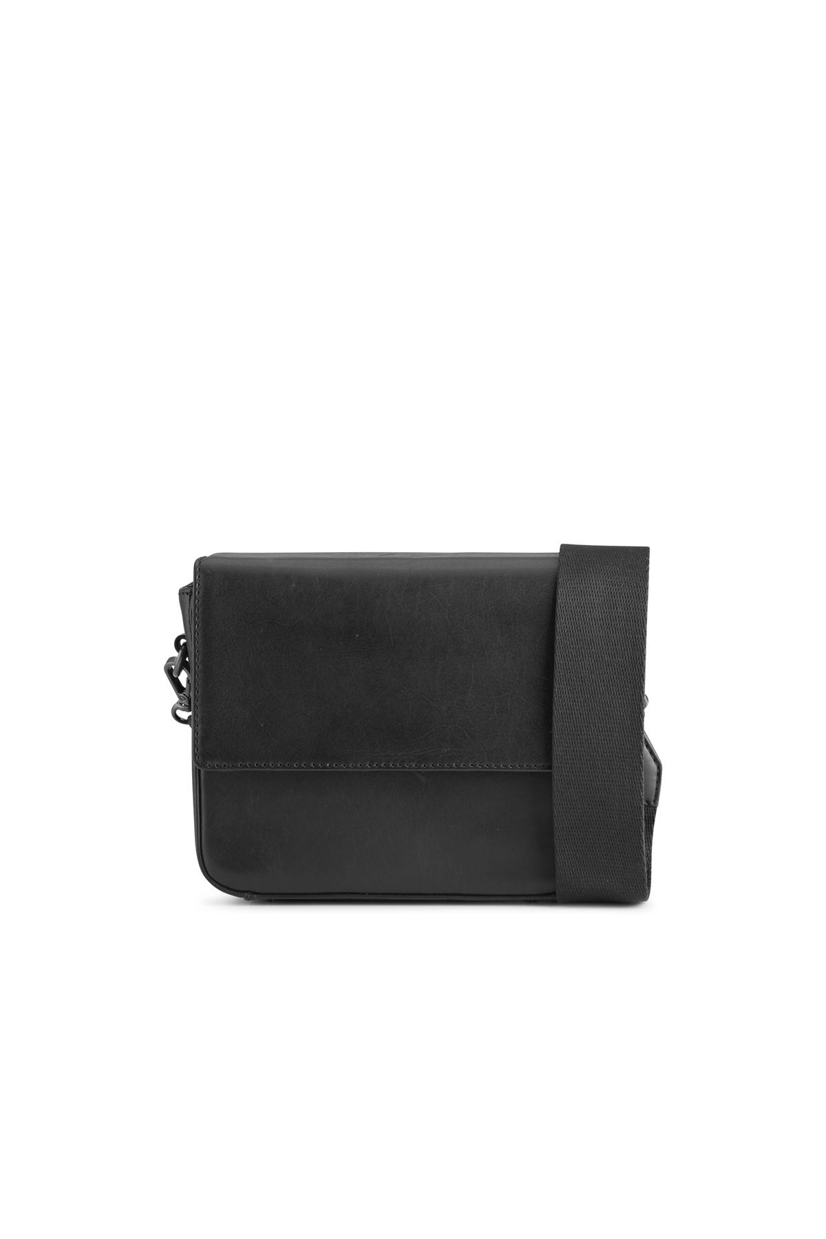 Adora Large Crossbody Bag - Antique Black w/ Black-5