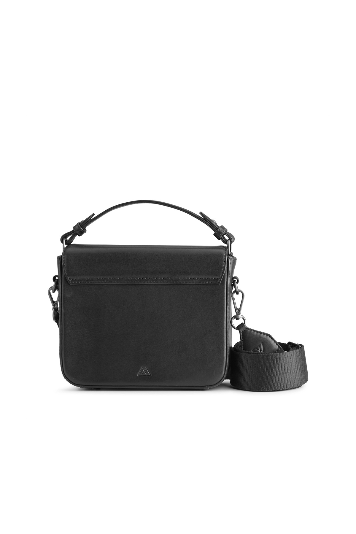 Adora Large Crossbody Bag - Antique Black w/ Black-7