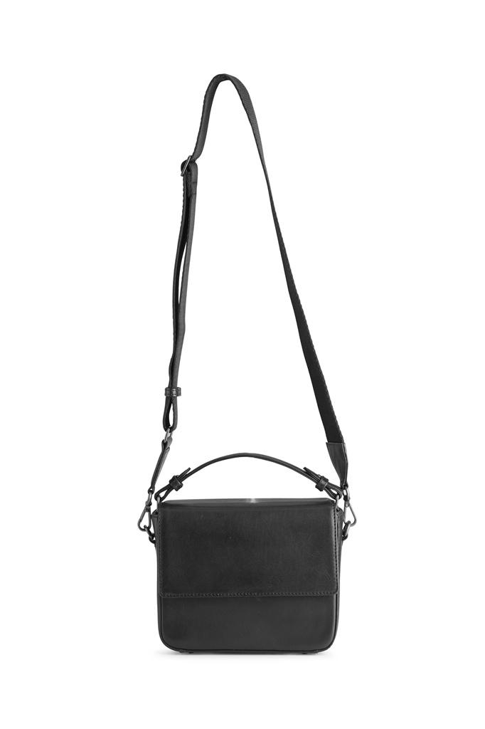 Adora Large Crossbody Bag - Antique Black w/ Black-2