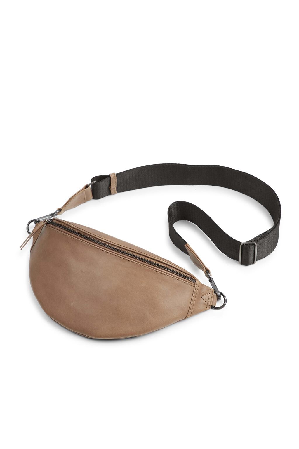 Elinor Bum Bag - Antique Caramel w/ Black-1