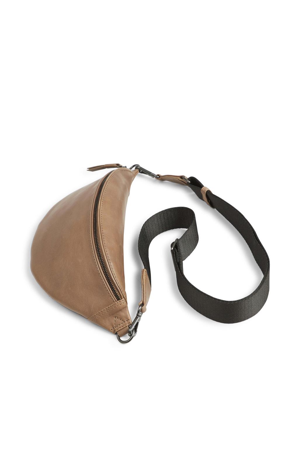 Elinor Bum Bag - Antique Caramel w/ Black-2