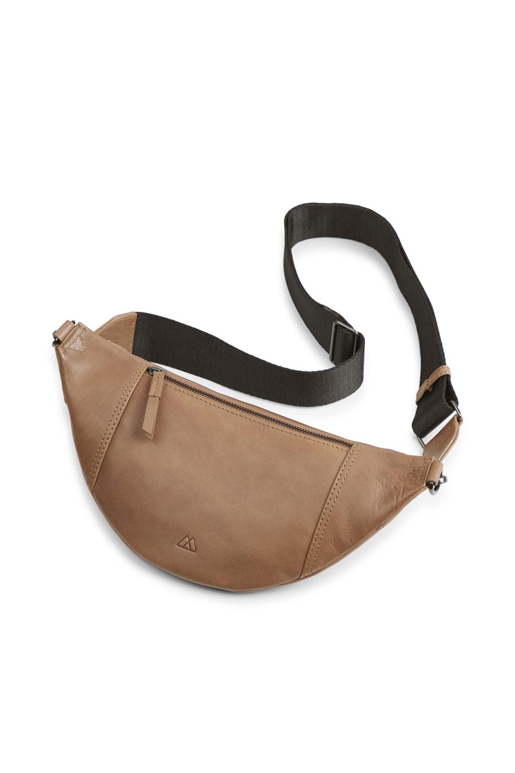 Elinor Bum Bag - Antique Caramel w/ Black-3