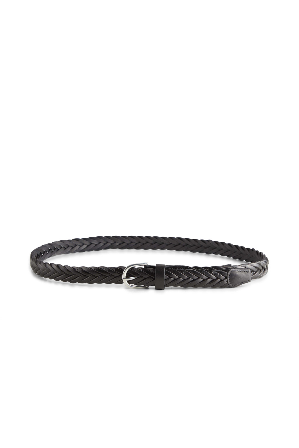 Nerea Leather Belt - Black-2