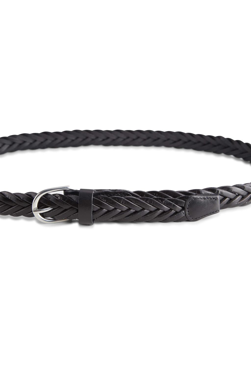 Nerea Leather Belt - Black-3