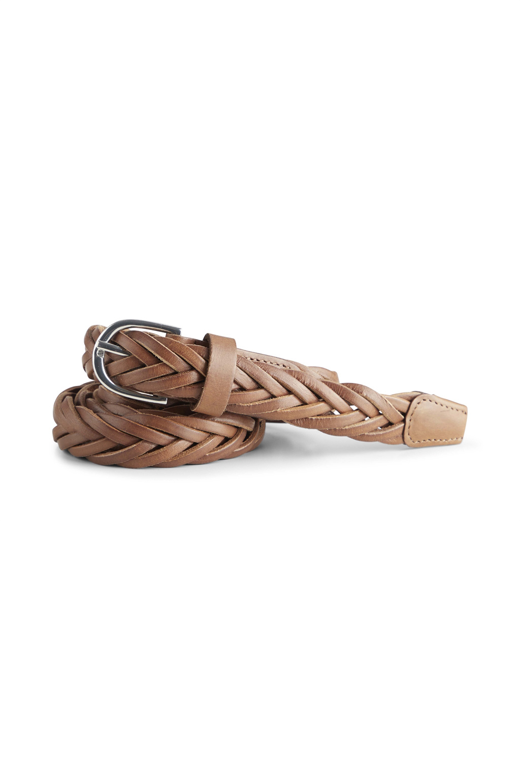 Nerea Leather Belt - Caramel-1