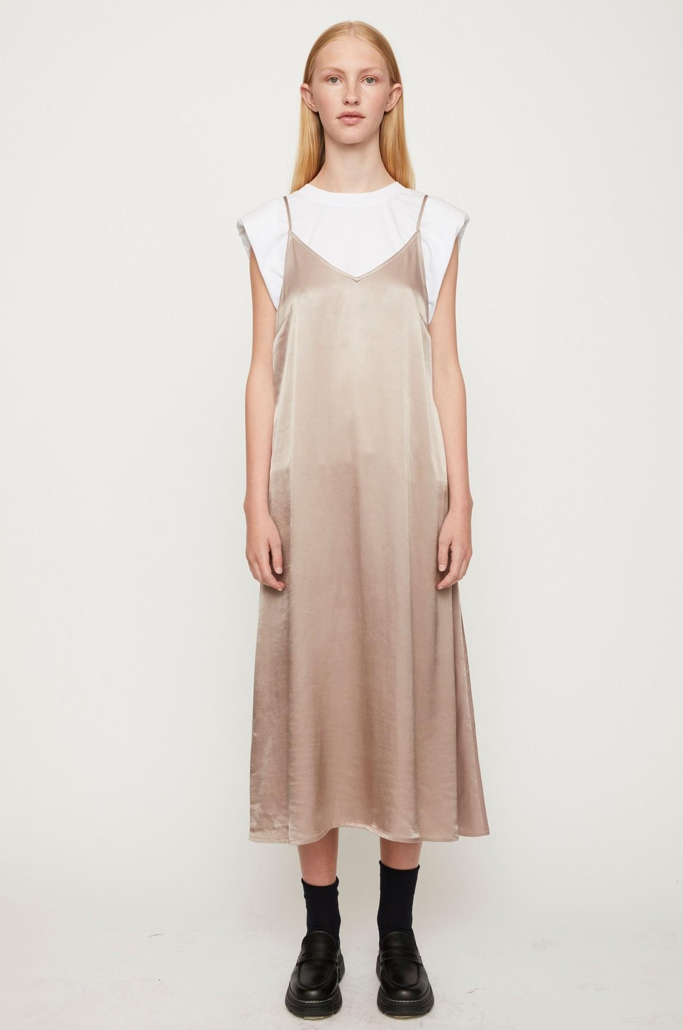 Delta Singlet Dress - Fungi-2