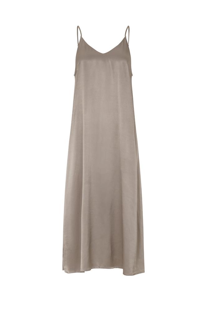 Delta Singlet Dress - Fungi-1