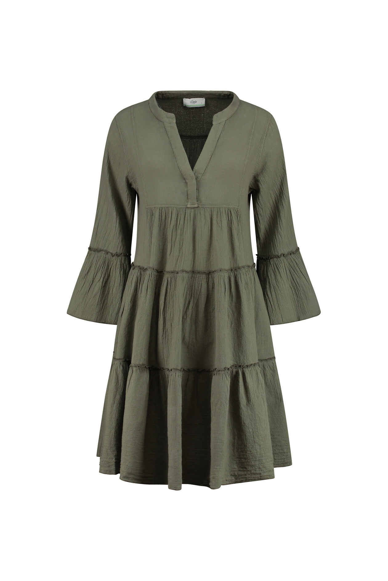 Dress Midi - Khaki-1