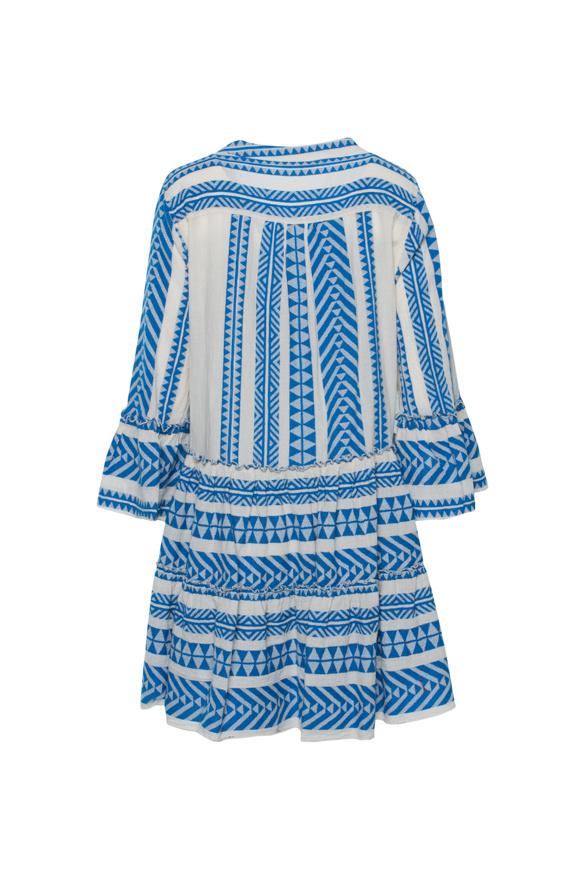 Short Dress Ella - Blue-3