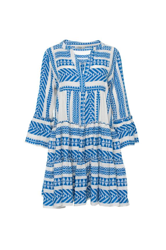 Short Dress Ella - Blue-1