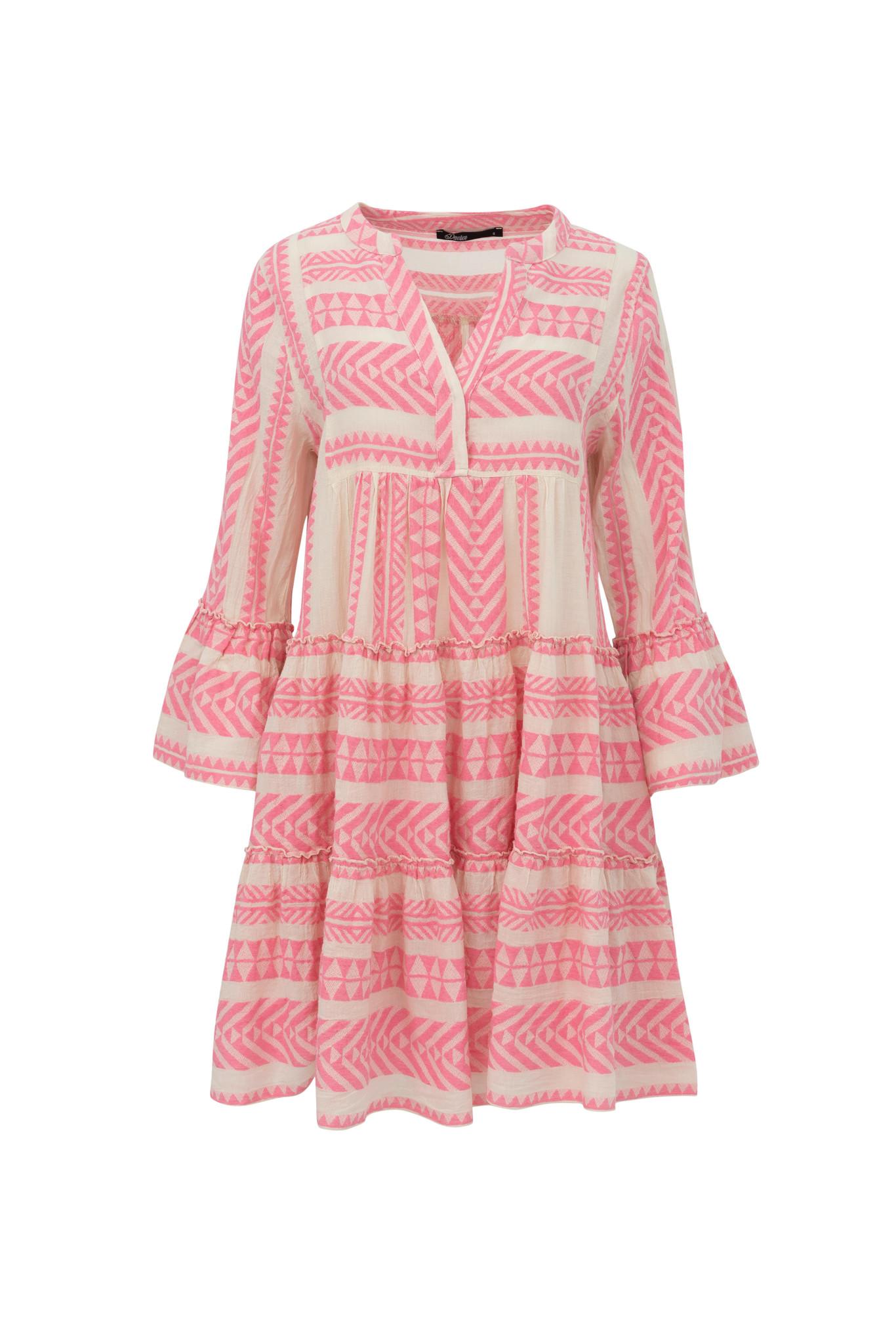 Short Dress Ella - Pink-1