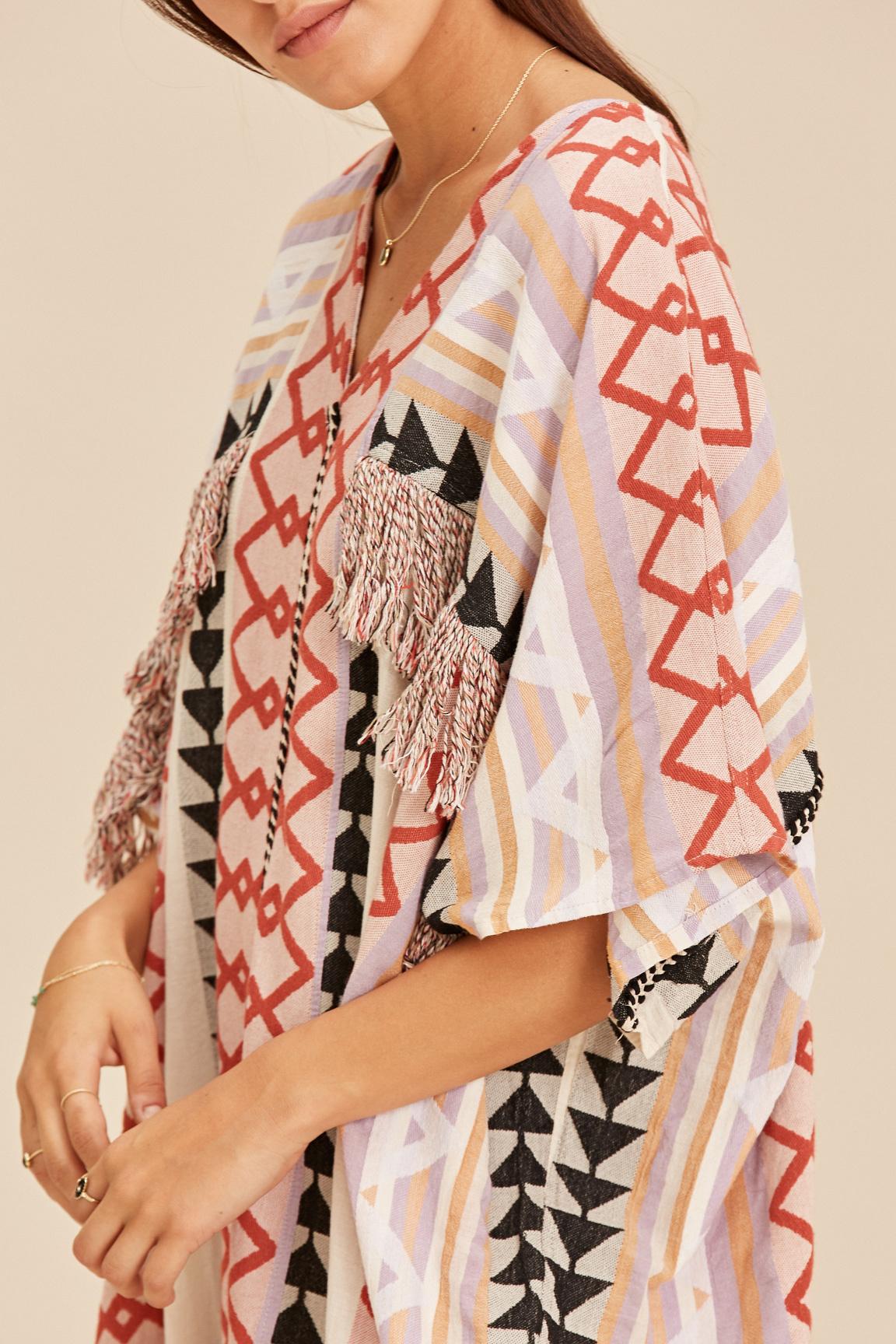 Long Kimono Zakar New York - Lila-5