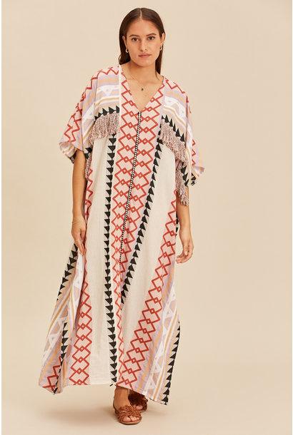 Long Kimono Zakar New York - Lila