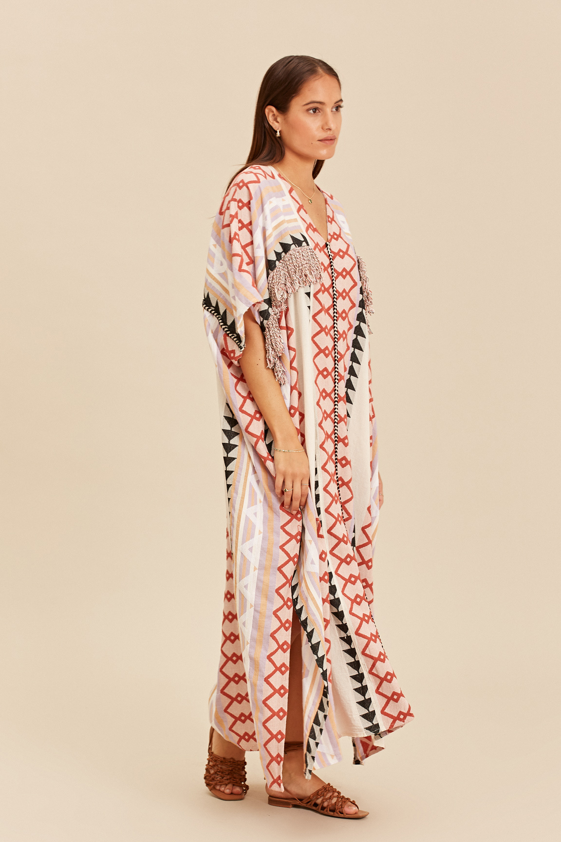 Long Kimono Zakar New York - Lila-6