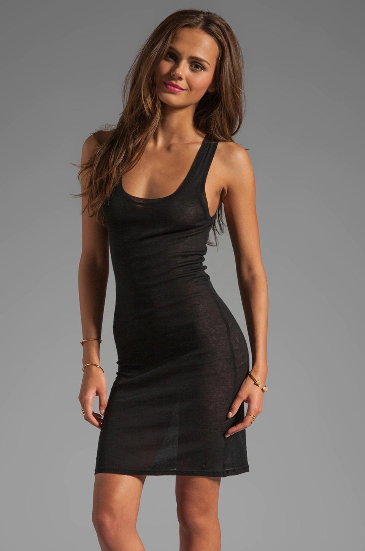 Massachusetts Singlet Dress - Black-2