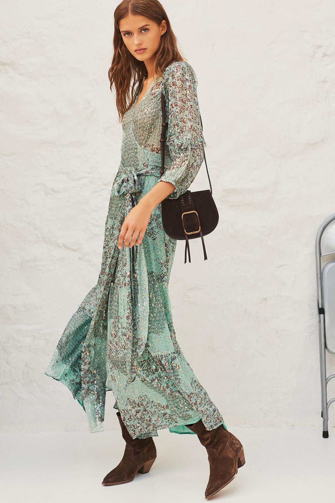 Oriane Dress - Green-3
