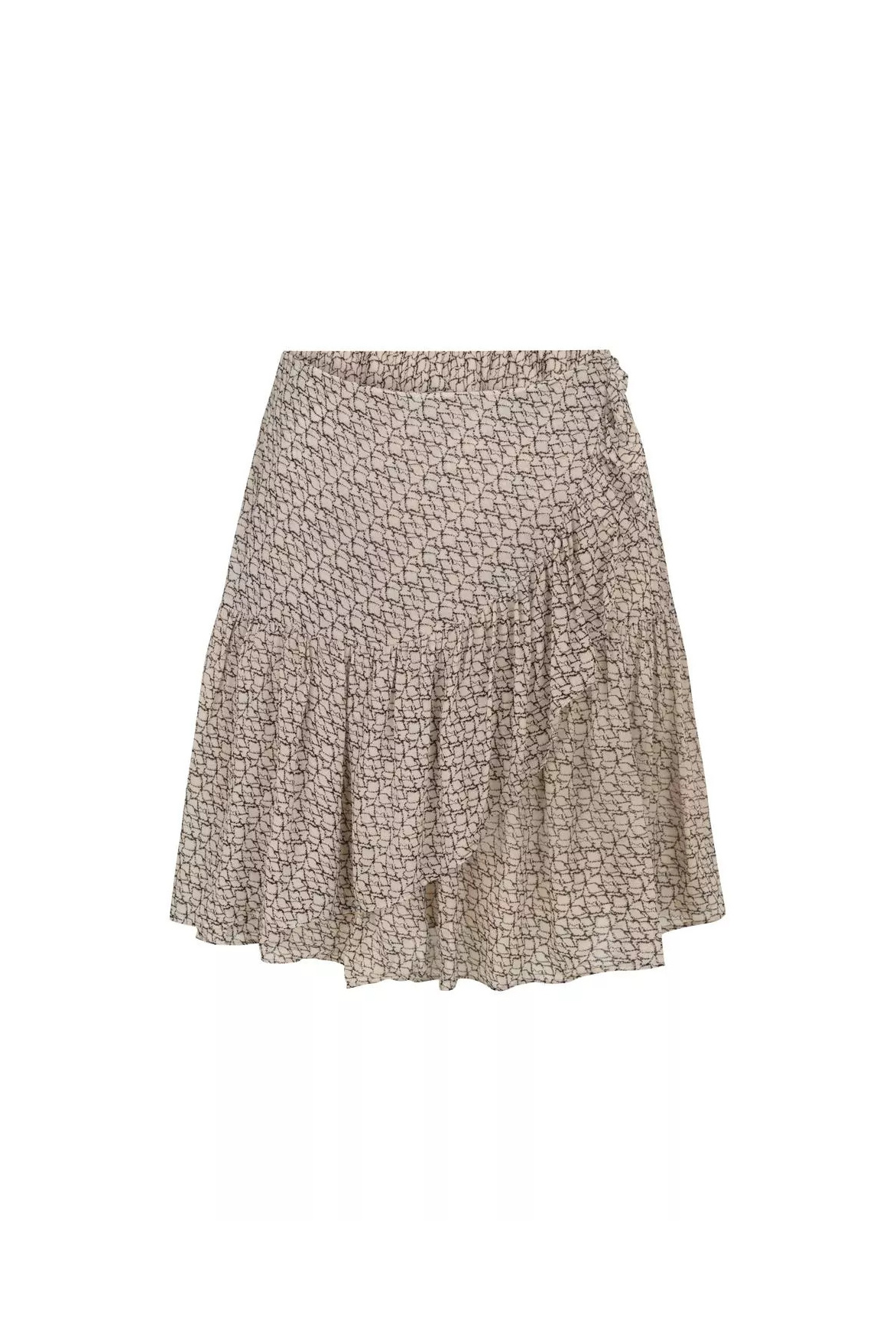 Lacing Skirt - Cement-1