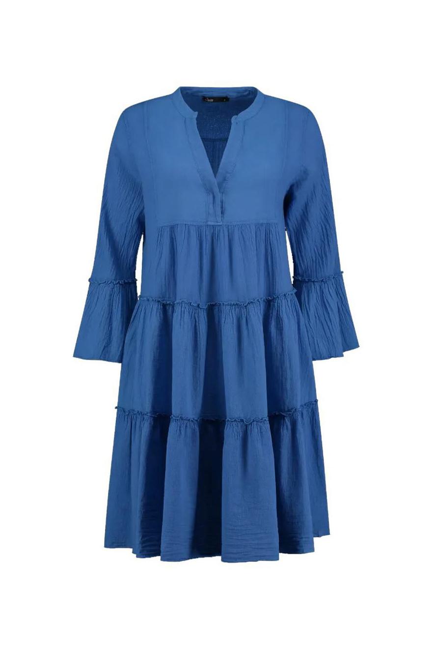 Dress Midi - Blue-1