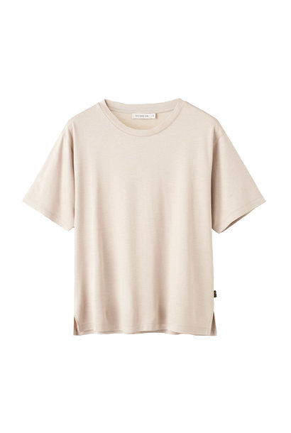 Macey T-Shirt - Beige Clay