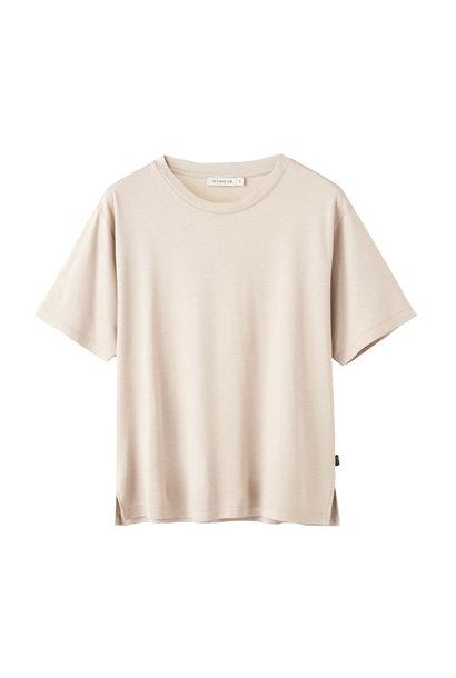 Macey T-Shirt - Beige Klei