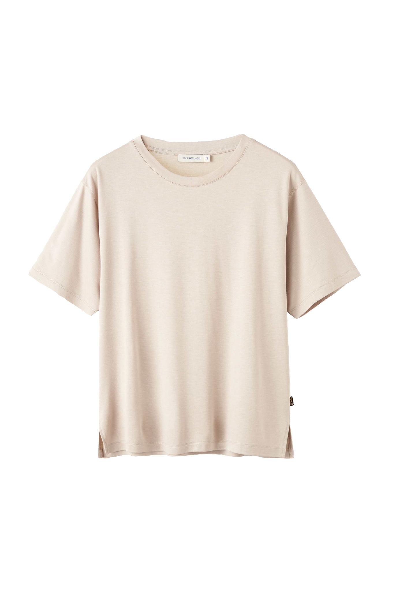 Macey T-Shirt - Beige Clay-1