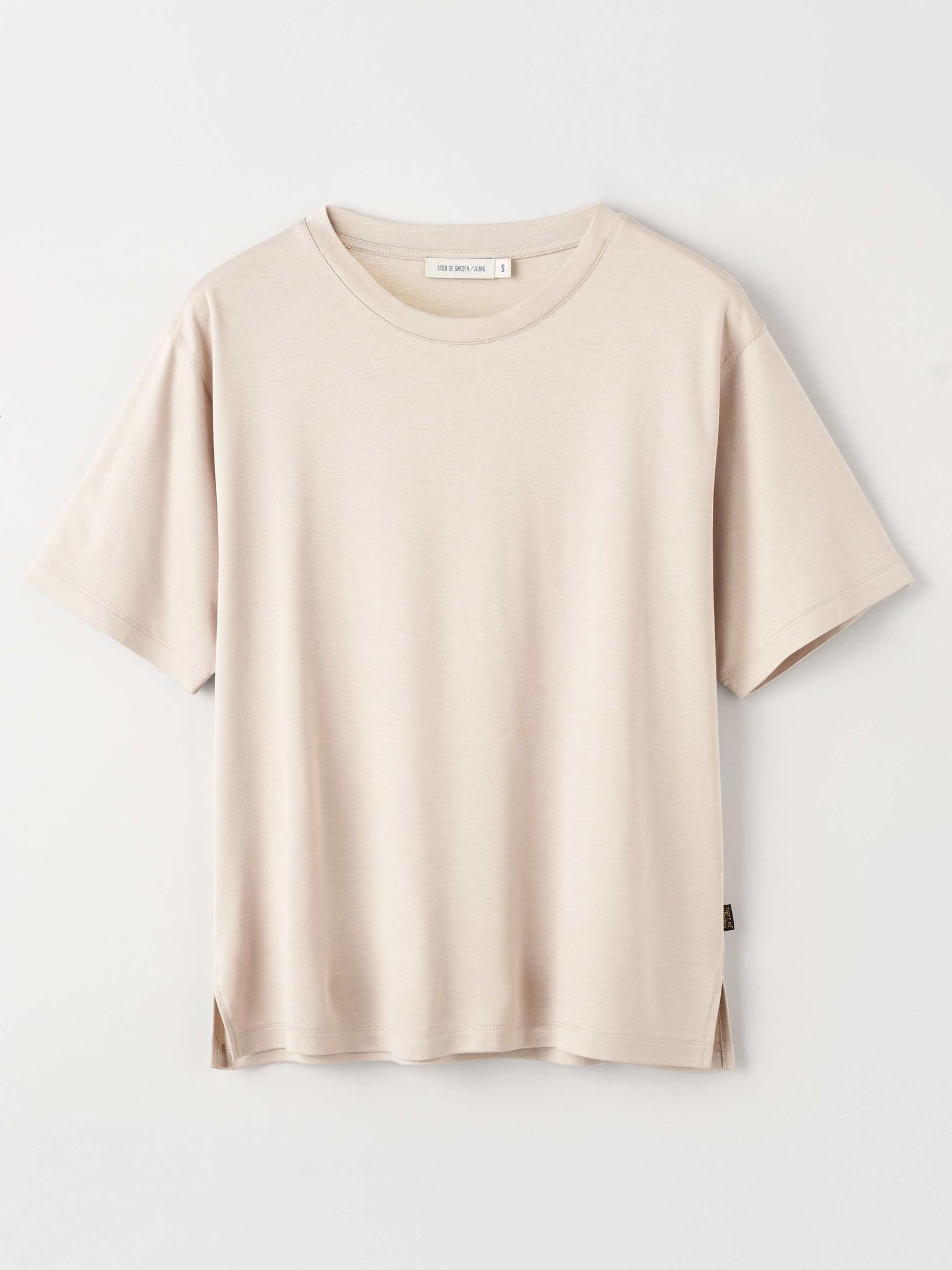 Macey T-Shirt - Beige Clay-4