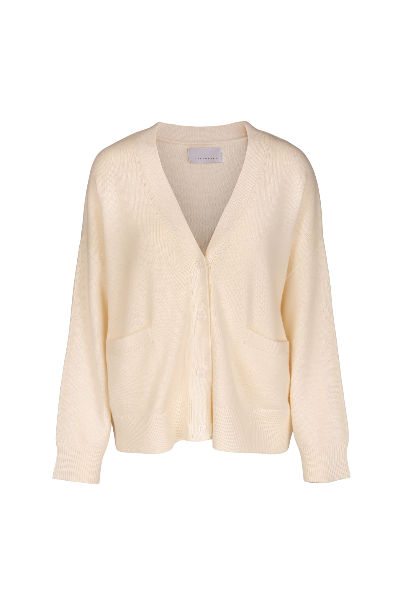 Moses Cardigan - Off White-1