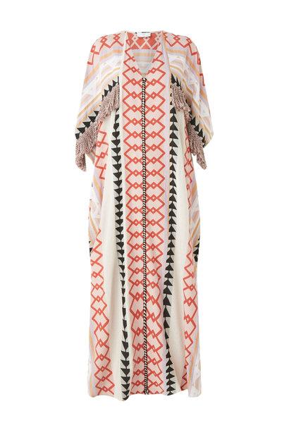 Lange Kimono Zakar New York - Lila