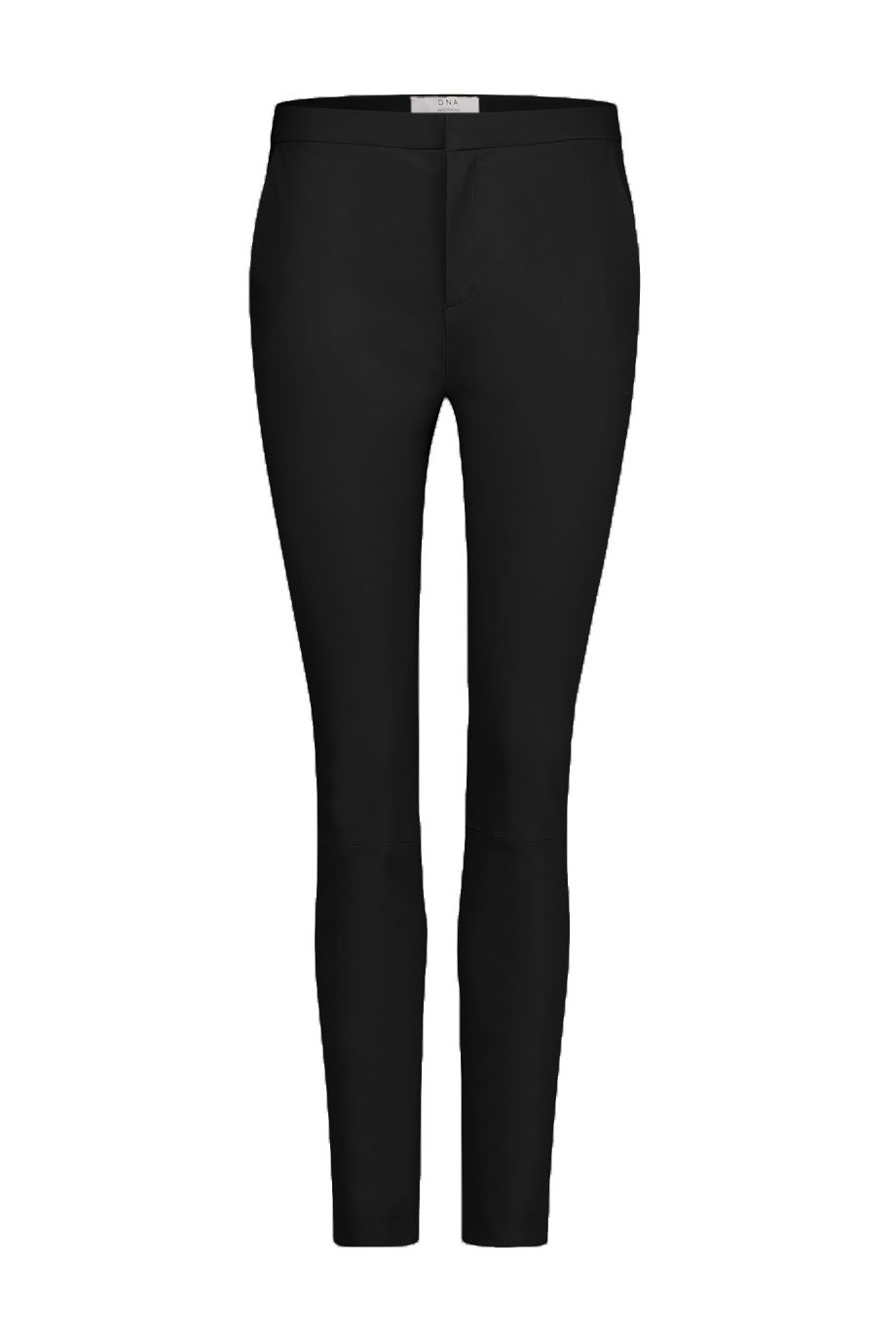 Pardau Leather Pant - Black-1