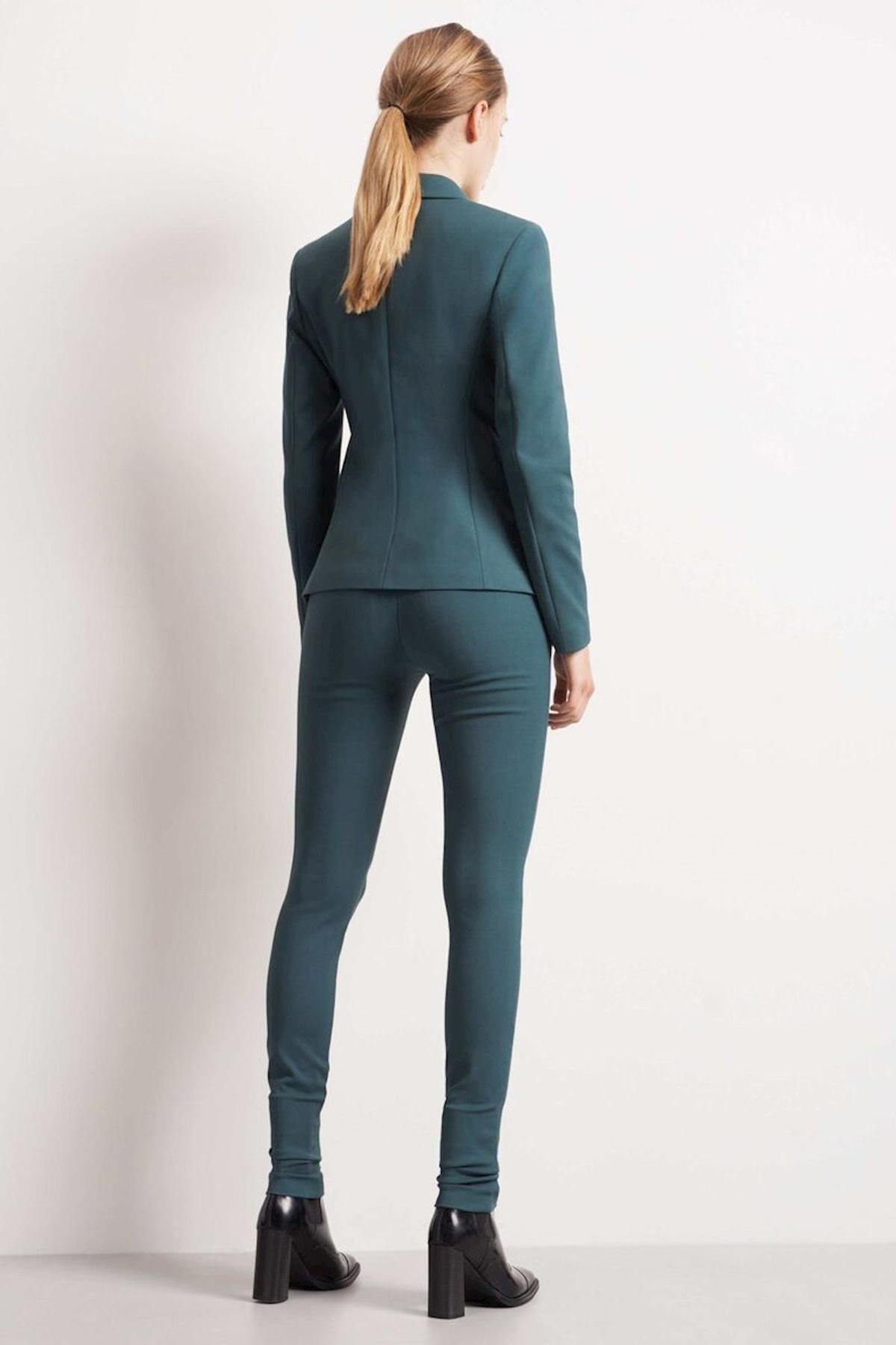 Taika Trousers - Scarab Green-4