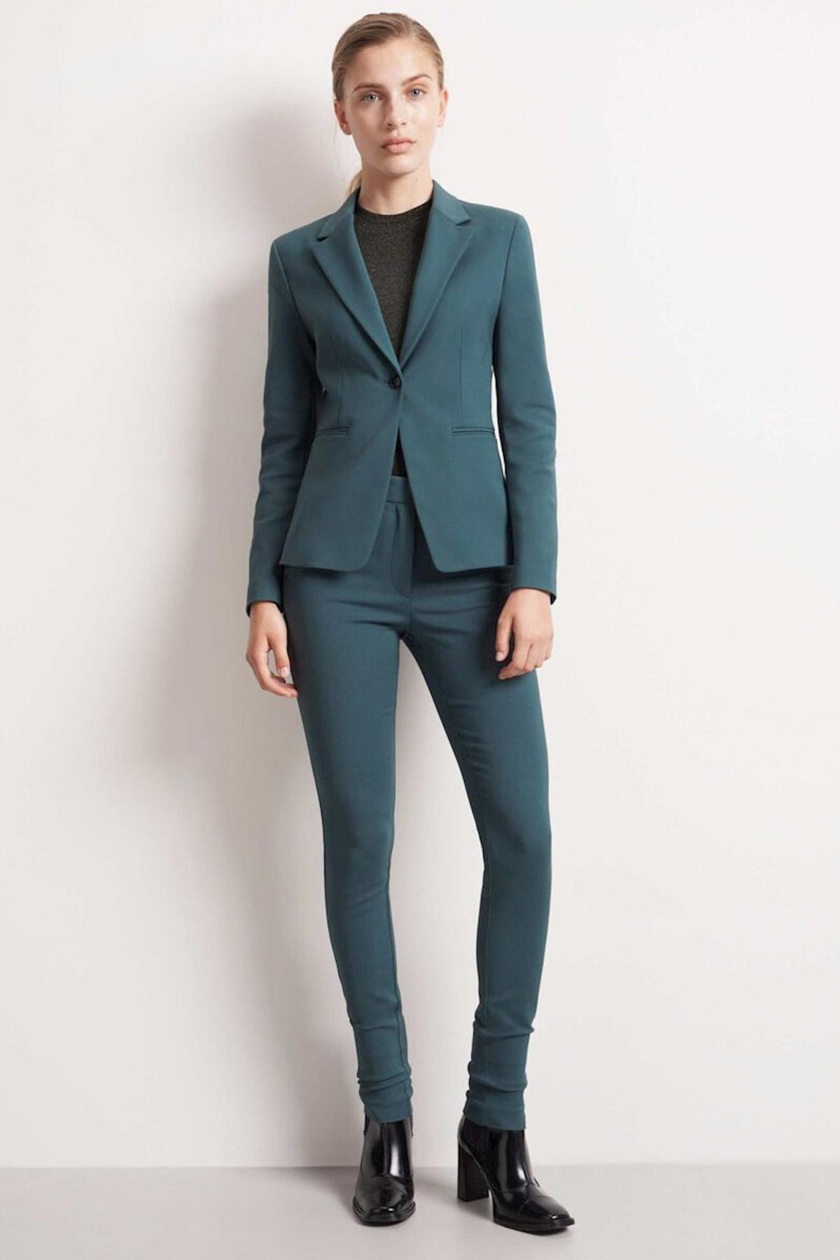 Taika Trousers - Scarab Green-2