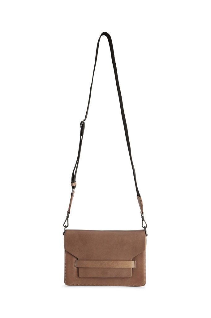 Arabella Crossbody Bag - Antique Caramel w/ Black-8