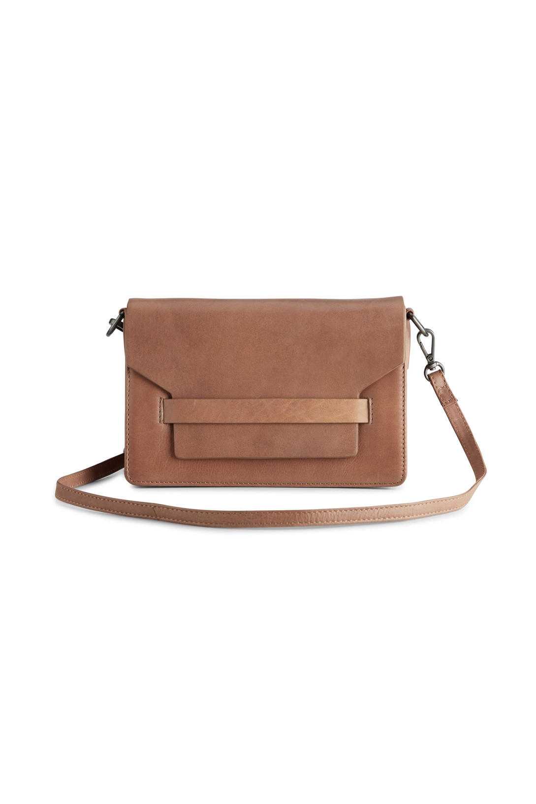 Arabella Crossbody Bag - Antique Caramel w/ Black-1