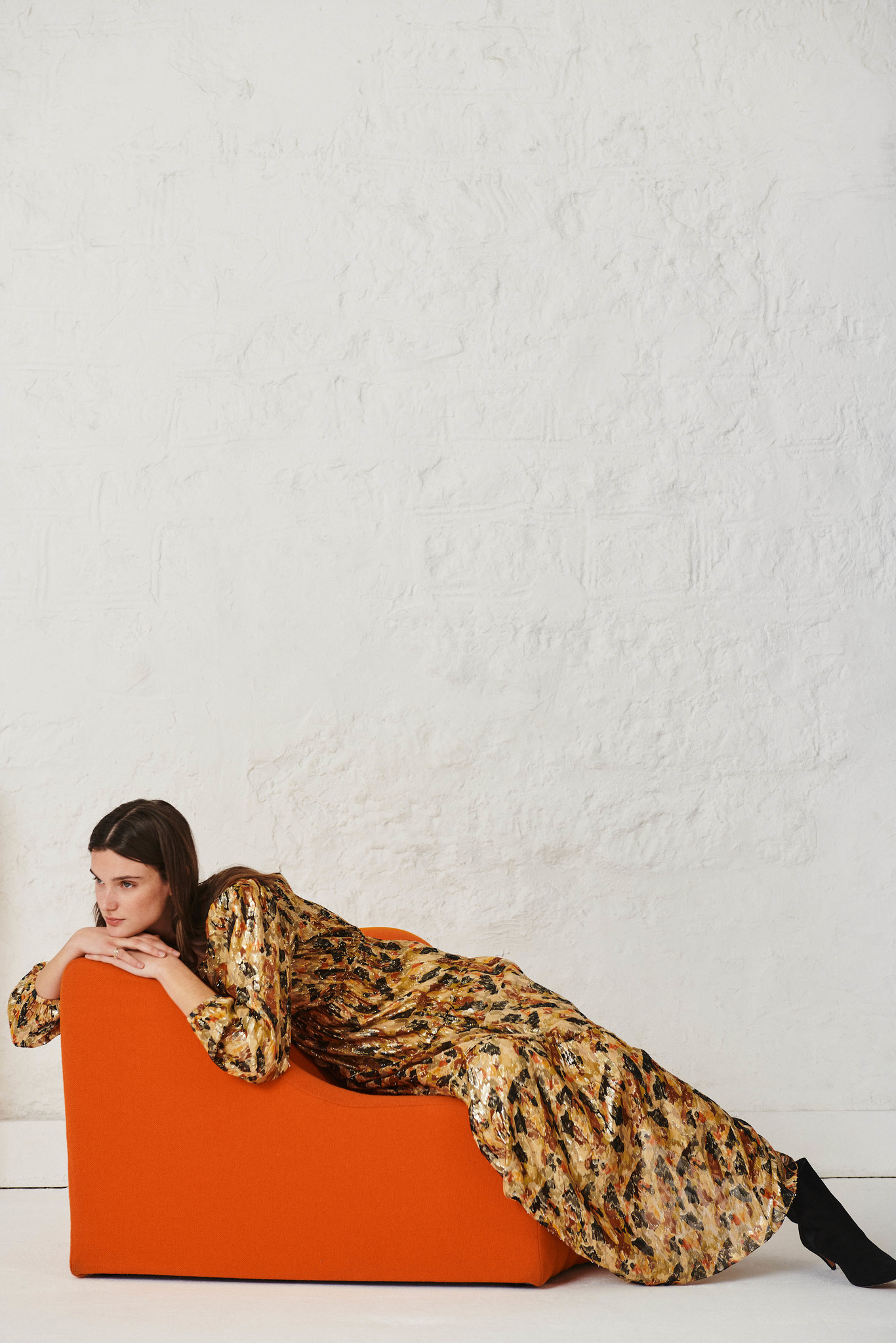Gullian Dress - Oker-7
