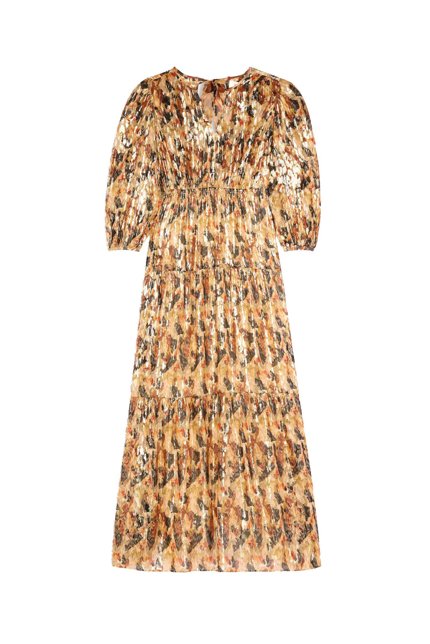 Gullian Dress - Oker-1