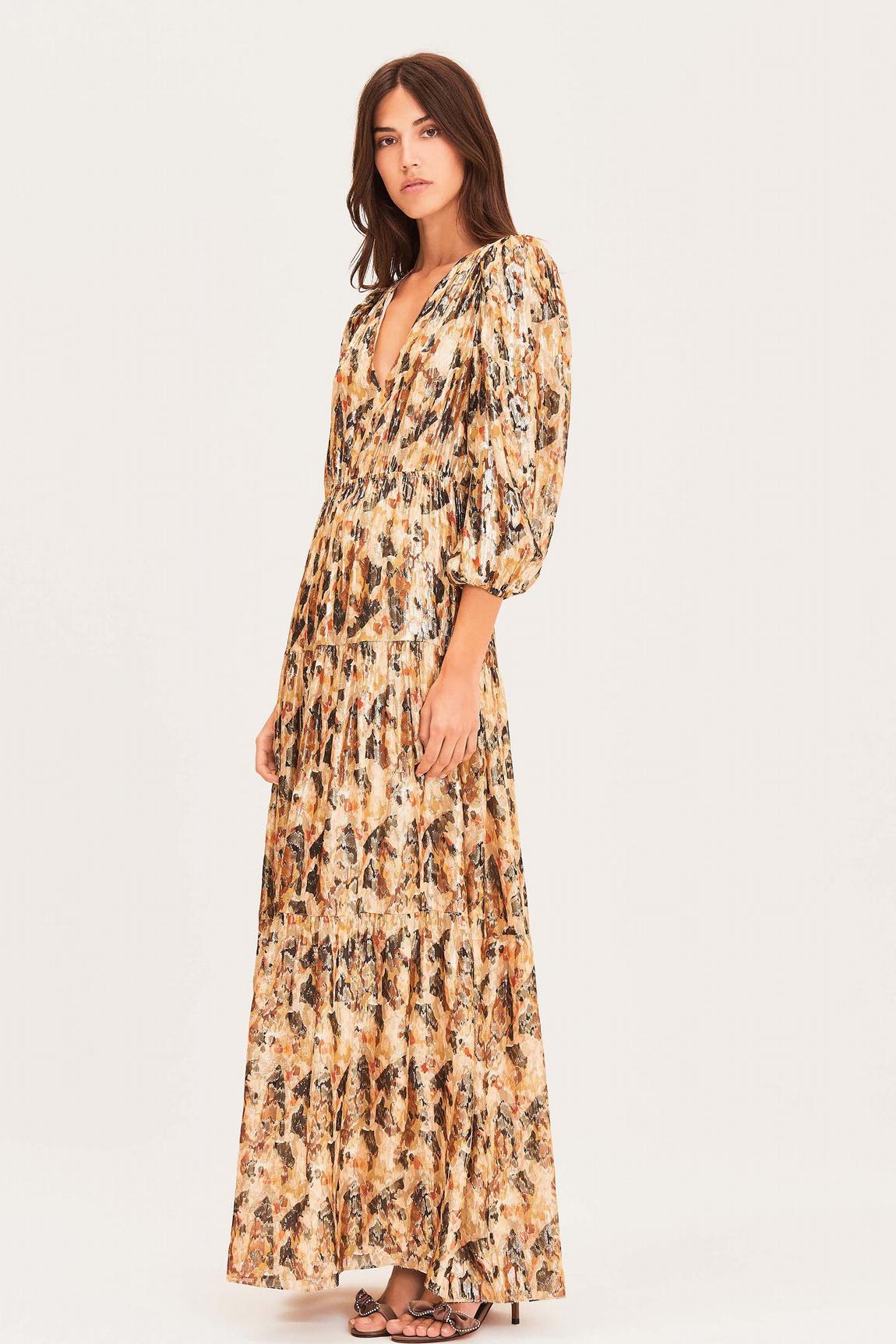 Gullian Dress - Oker-8